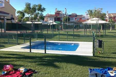 [341] Casa fantástica con piscina - Gines - Haus