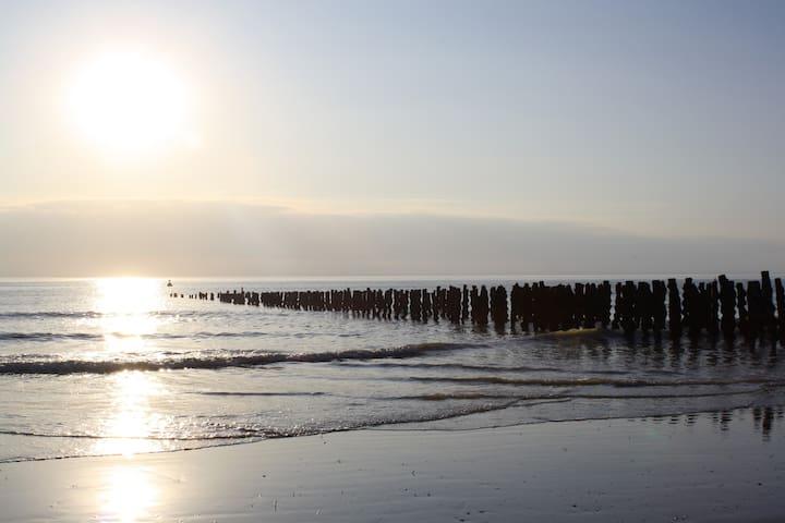 La plage de Quend, à 5 minutes en voiture