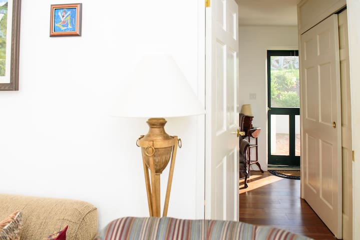 Direct  access from bedroom to private patio