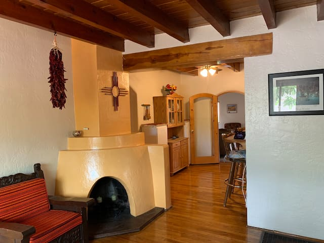 Centrally Located Traditional Santa Fe Style Home