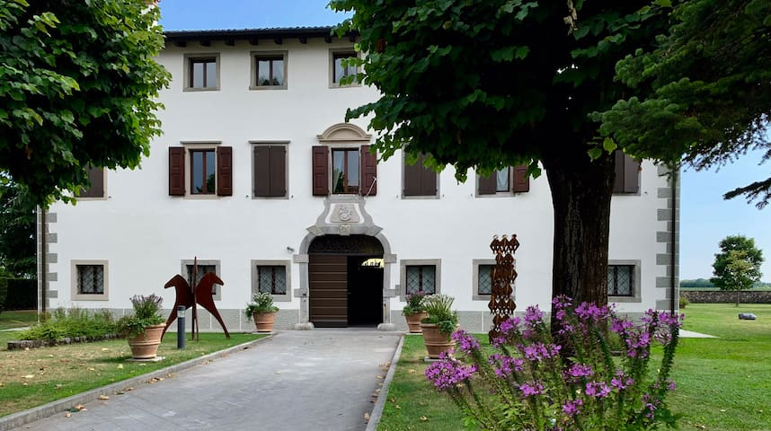 Villa Minini Historische Villa bei San Daniele