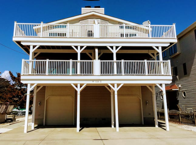 5BR/3B Sea Isle Townsend Inlet - Walk to Beach!