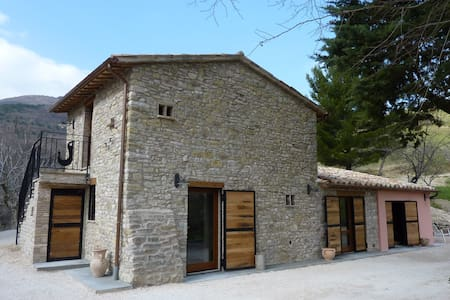 Old farmhouse in the Woods - Assisi