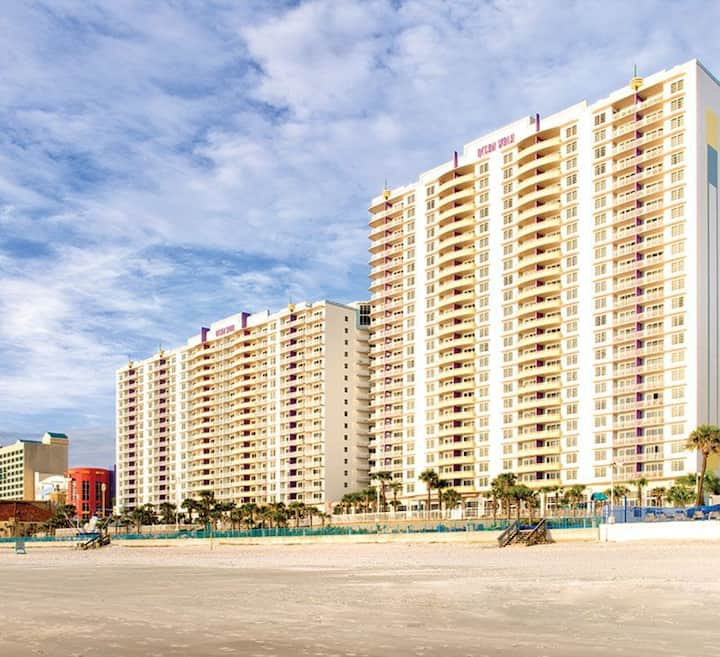 Wyndham Daytona Ocean Walk Condo  1 Bedroom 1 Bath