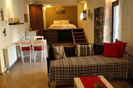 Large Studio of Ilian House, for 5 persons - Parga - Apartemen berlayanan