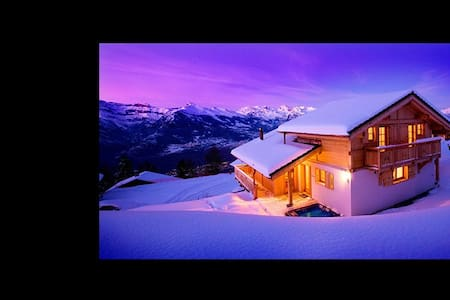 Chalet Gingembre 5* Jacuzzi bed and breakfast - Nendaz - Bed & Breakfast