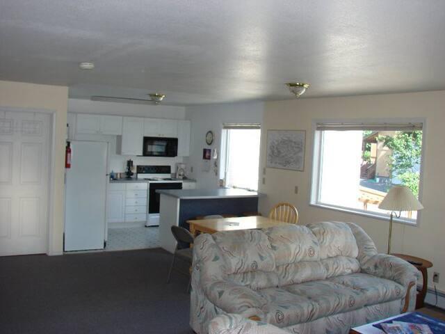 Private apartment in Cordova, Alaska