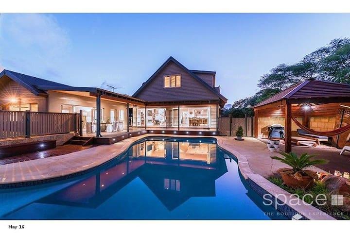 Elegant East Fremantle home with pool