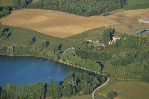 Gite dans reserve Lac du Gouyre B