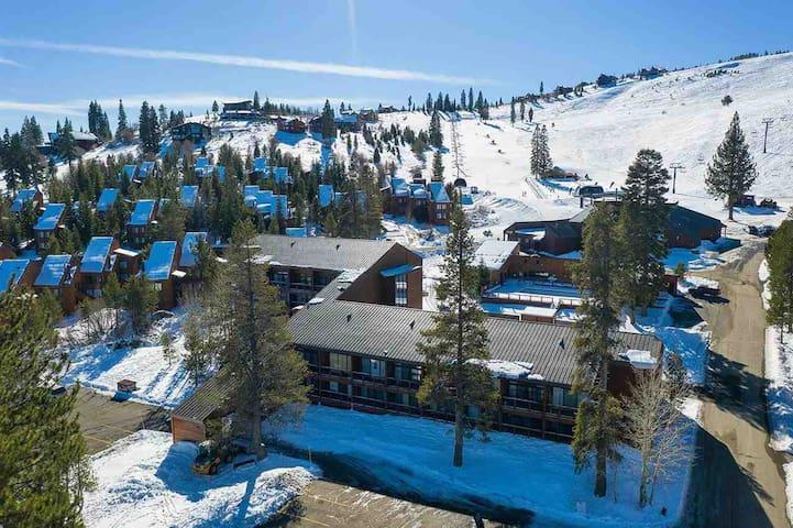 Tahoe Donner Lodge at Tahoe Donner Ski Resort