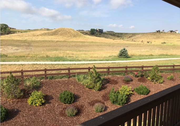 View from guest bedroom deck