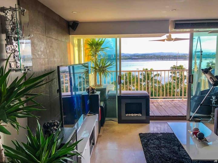 Lagoon View Condominium 5 Min From Beach