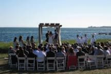 Weddings have been held on beach in front of guesthouse