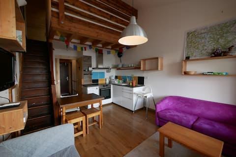 Appartement duplex NEUF - centre station -
