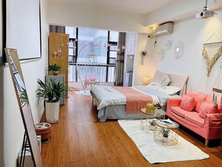 世纪大道 情侣单间公寓