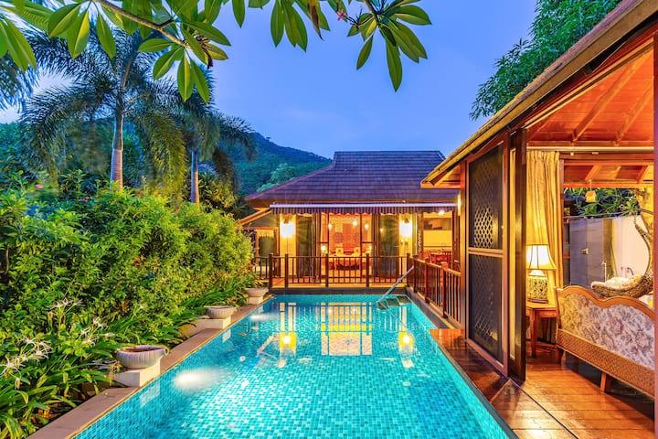 亚龙湾热带天堂泳池别墅