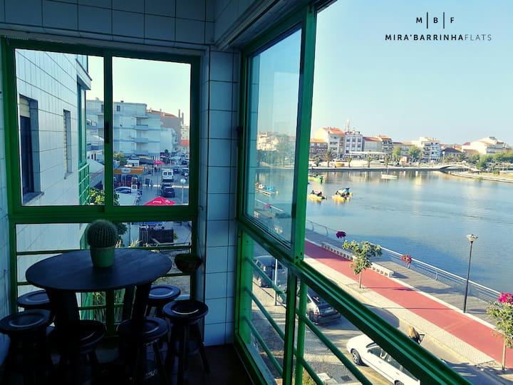 Mira'Barrinha Flats - apartamento com vista lago