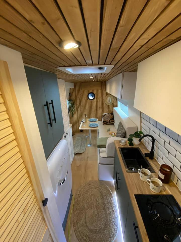 Stunning Scandi/Boho Luxury Camper Van