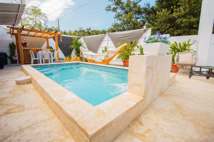 Casa Amanda pool house