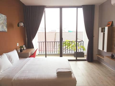 西貢河畔極簡單公寓- HI AN 301