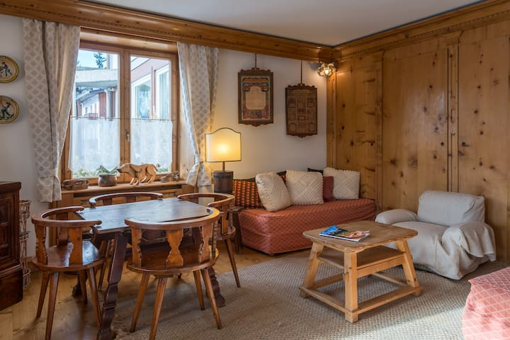 apartment in the center of Cortina