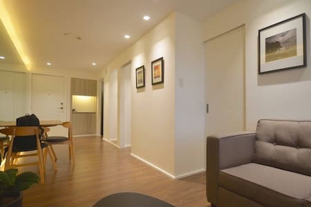 Modern cozy 2br 1ba in upscale alabang w/parking