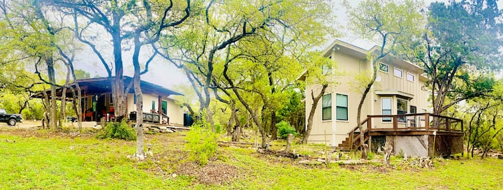 Two Tiny Homes in ONE Rental in Wimberley!