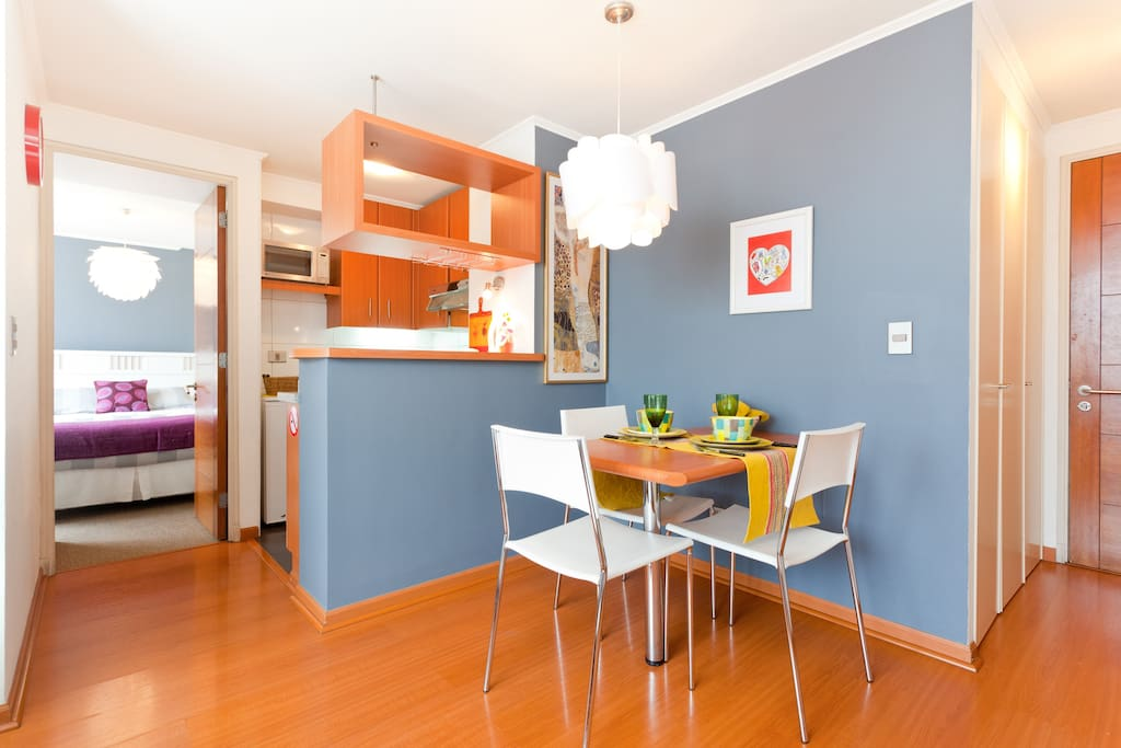 New & modern apartment, Santiago