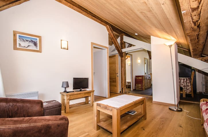 VERA - Cosy 3 room apartment close to the slopes and the center of Chamonix - CHAMONIX - Apartamento