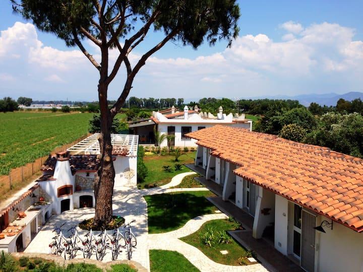 Lovely villa in Circeo