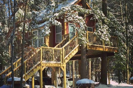 Cozy Treehouse at Plummer Shores-Nov 1-4 available