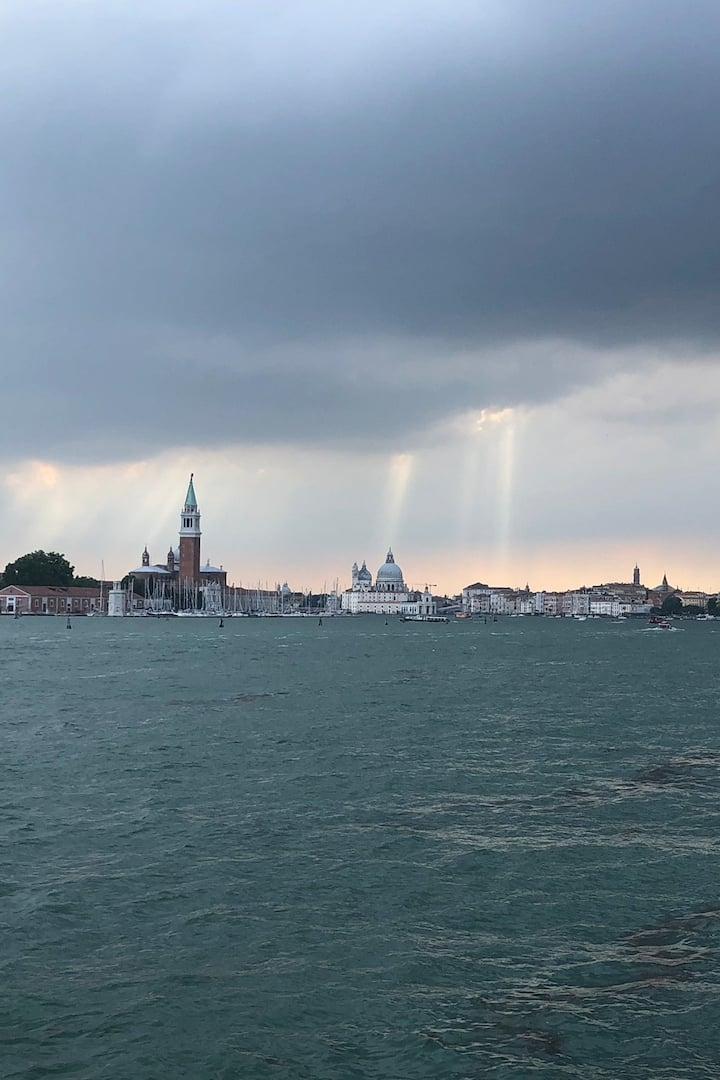 Venice after a storm
