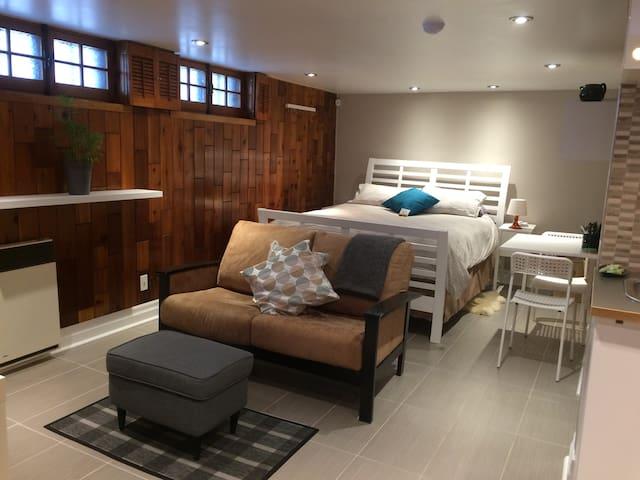 Amazingly comfortable new studio - Montréal - Wohnung