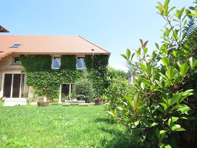 Gite  4/6 pers les granges de Fay - Peyrieu - House