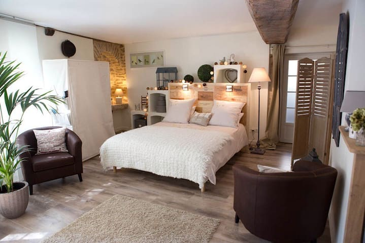 Suite atypique à Pommard - Pommard - Apartment