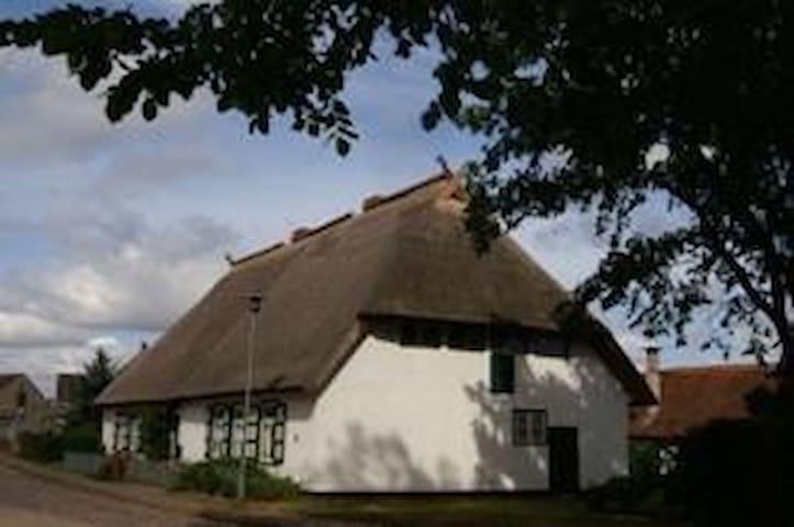 2-Personen-FeWo im reetgedeckten Bauernhaus - Neu Poserin