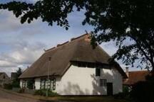 2-Personen-FeWo im reetgedeckten Bauernhaus