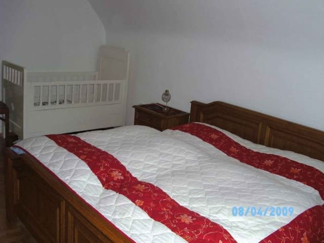 Halterhof, (Durbach), Ferienwohnung Schwarzwaldzauber 58qm, 3 Schlafzimmer, 2-5 Personen