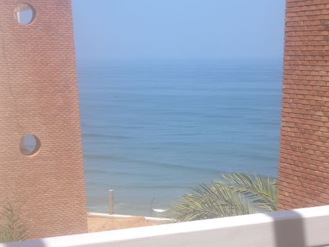 Luxury 2-bed ocean-view apartment - Sidi Ifni - Wohnung
