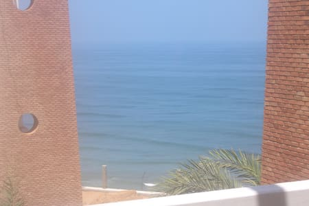 Luxury 2-bed ocean-view apartment - Sidi Ifni - Flat