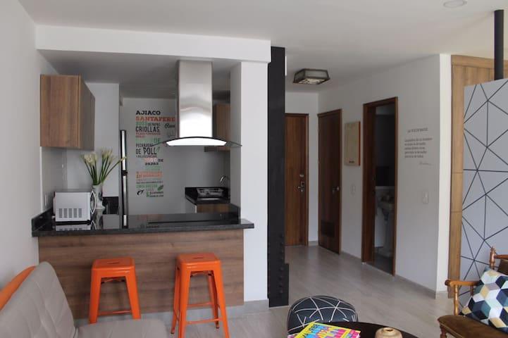 Apto. contiguo Torre Colpatria - Bogotá - Apartment