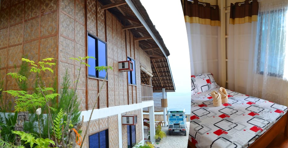 Comfy Room w/ Fan by the Sea - Ginatilan - Casa