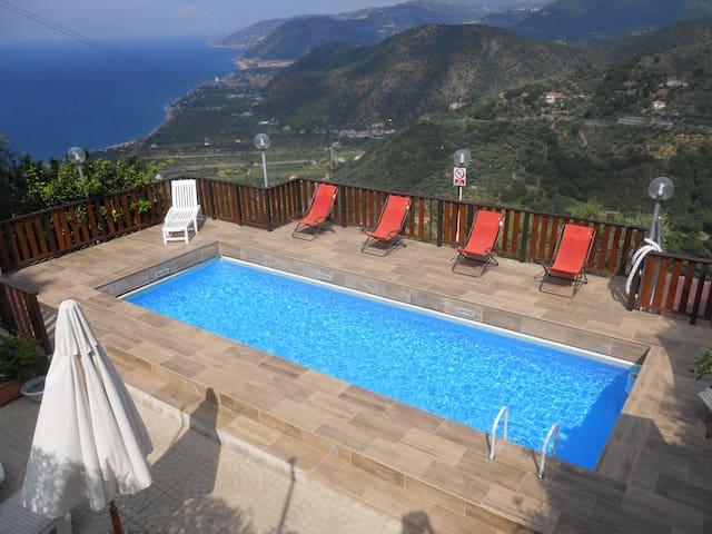 Férias na Sicília - Villa Rosi - Capo d'Orlando - Vila