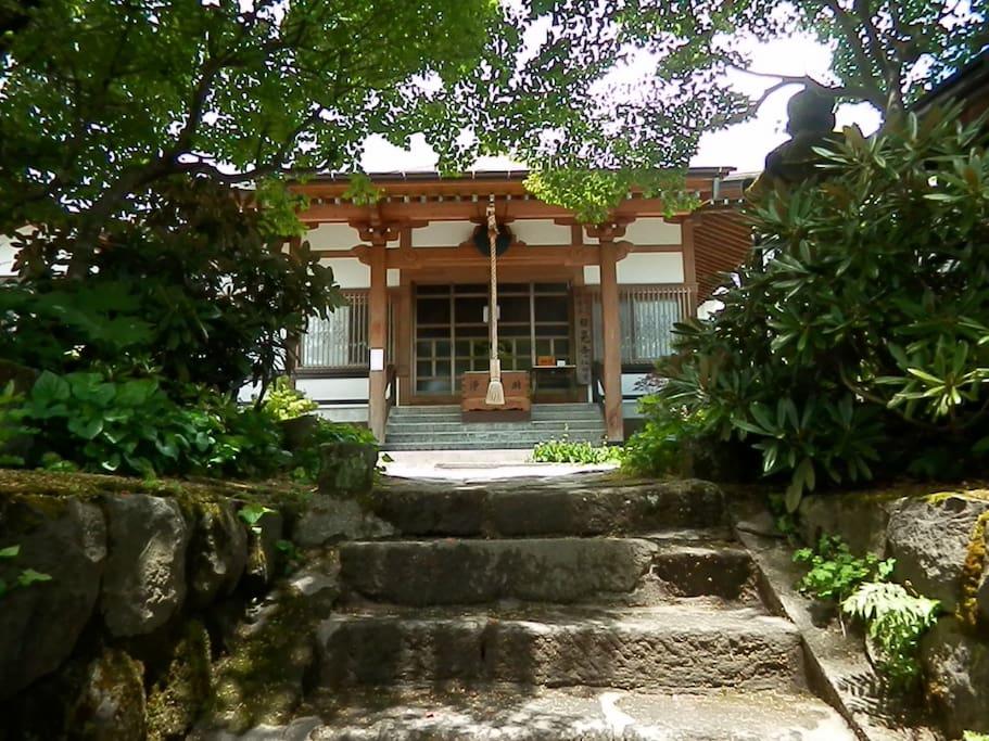 Nichikou-ji(our temple)