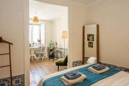 Lovely double room in the HEART of LISBON - Lissabon - Wohnung