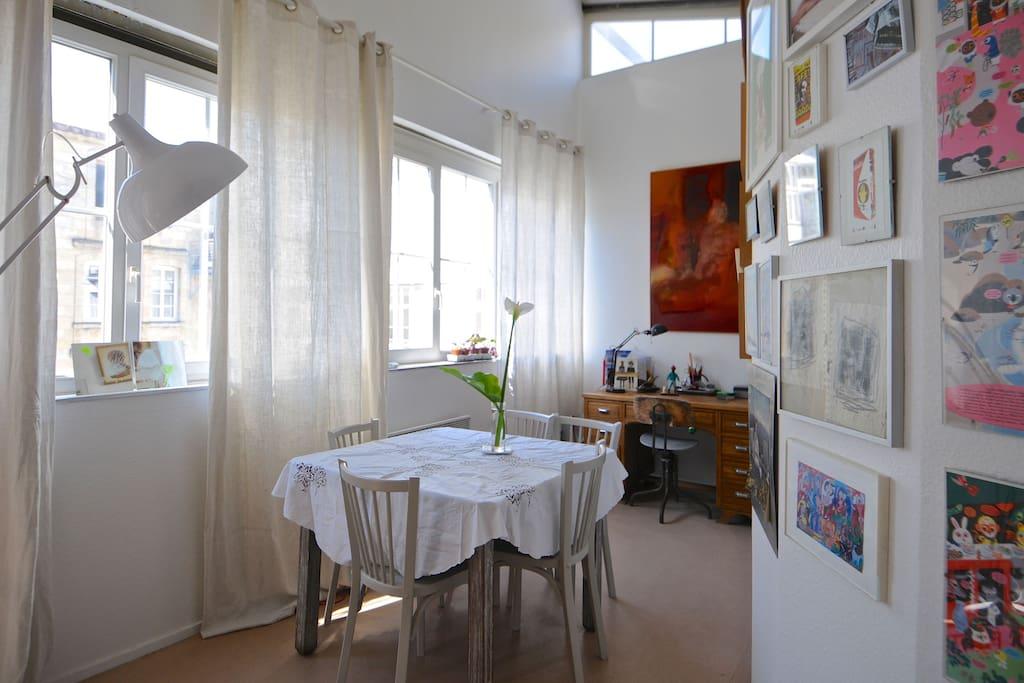 Chambre dans un loft appartements louer bordeaux for Acheter un appartement 0 bordeaux