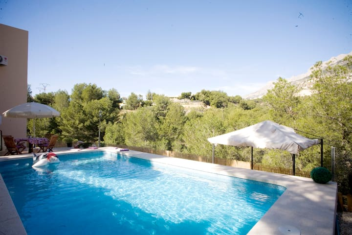 Amazing villa with pool! - Altea - Casa