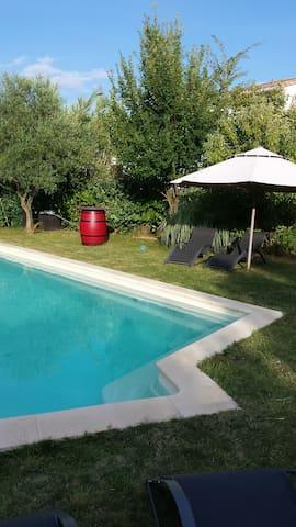 Villa au calme en Pic St Loup - Saint-Jean-de-Cornies - วิลล่า