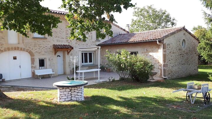 Charmante maison de campagne - Maison de Margoulon