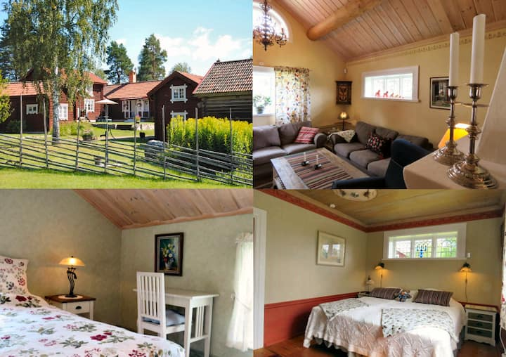 Genuine picturesque cottage / lodge Dalecarlia